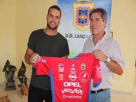El mediapunta Alex Yunes regresa a la UD Lanzarote. ULanzarote