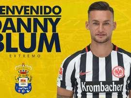 Las Palmas presentará a Danny Blum este jueves. LasPalmas