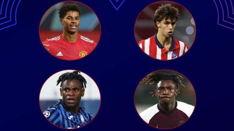 La UEFA anunció este jueves a los seleccionados. Captura/Twitter/LigadeCampeones