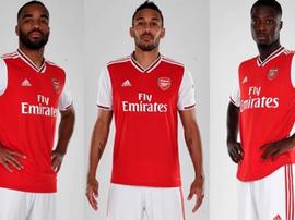 Um ataque de 73 gols. Arsenal