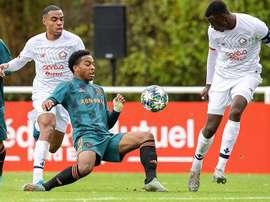 Ajax, Lille y Salzburgo sellan su pase en una nueva jornada de Youth League. Twitter/AFCAjax