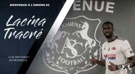Nuevas incorporaciones para el Amiens en la Ligue 1. Twitter/AmiensSC