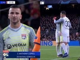 Anthony Lopes saiu em lágrimas. Capturas/Movistar+