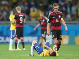 A Seleção alemã lidera o ranking FIFA à frente do Brasil. EFE