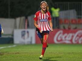 Laia hizo el 2-0. AtletiFemenino