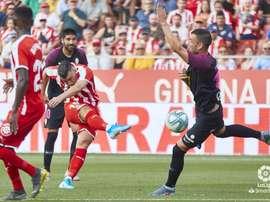El Girona logró rascar un empate en el minuto 90. BeSoccer