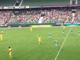 Villarreal a gagné 2-3 face au Werder Brême. Capture