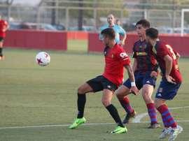 El Mallorca perdió en su visita al Peña Deportiva. RCDMallorca
