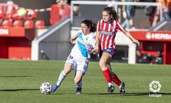 El Atlético Femenino echó a rodar frente al Milan. LaLiga/Archivo