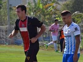 El Unión Adarve se impuso al Atlético Malagueño. BeSoccer