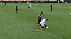 El Barça B cayó en Valencia. FCBarcelonaB