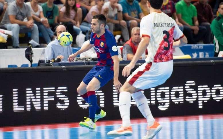 No hay quien pare al Barça. FCBFutsal