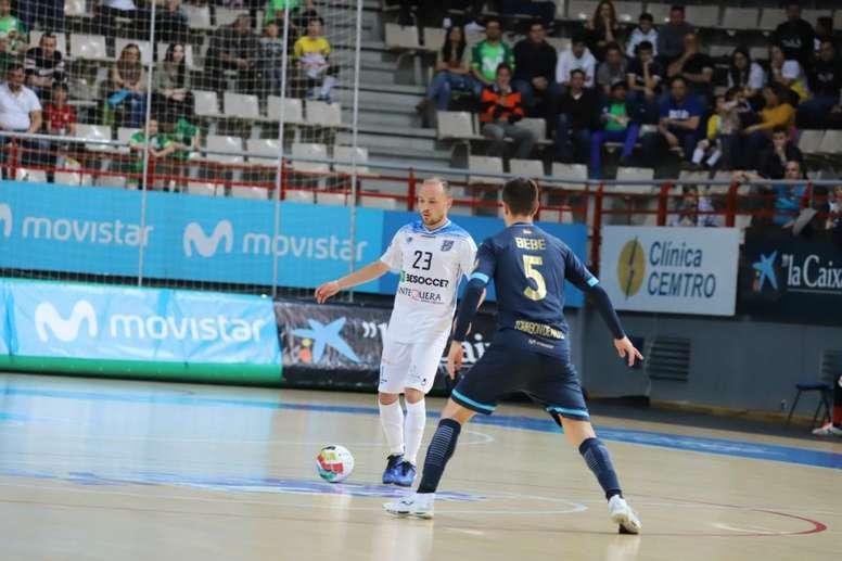 El Movistar Inter ganó por 6-1. BeSoccerCDUMAAntequera