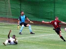 Unión Viera ganó en el choque que abrió la jornada. UnionViera