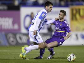 Lance del Leganés-Real Valladolid. LFP