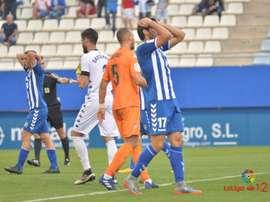 Lance del Lorca-Reus de la quinta jornada de Liga en Segunda. LaLiga