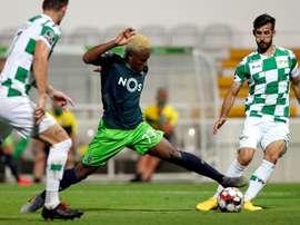 El Sporting naufraga contra diez. Sporting_CP
