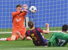 El Barça B perdió en el segundo amistoso.  FCBarcelonaB