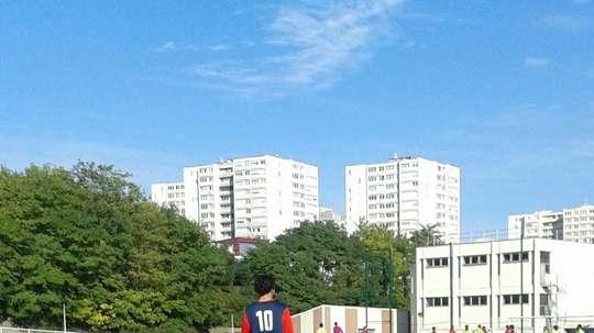 Lance del partido entre el Bobigny y el Gobelins. AFBobigny