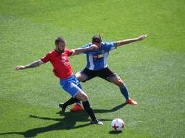 Importante victoria del Hércules. Twitter/CFHércules