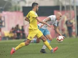 El Villarreal no pudo pasar del empate ante el Zaragoza. RealZaragoza