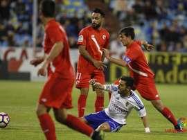 El Zaragoza volvió a tropezar en casa. LaLiga