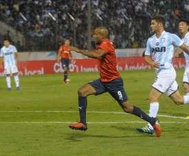 Lance del partido entre Independiente y Racing. AFA