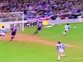 Lance del partido entre QPR y City de 1993. Youtube