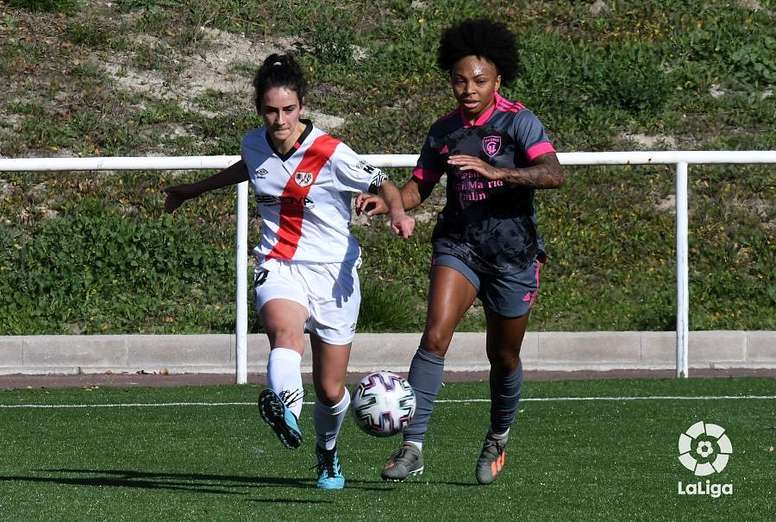 El Madrid Femenino pasó por encima del Rayo. LaLiga