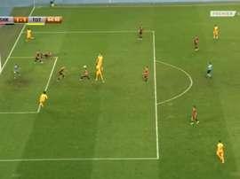 El Tottenham, a un paso de la fase de grupos. Captura/PremierSports1