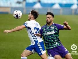 El Zaragoza se enfrenta al Sabadell. LaLiga