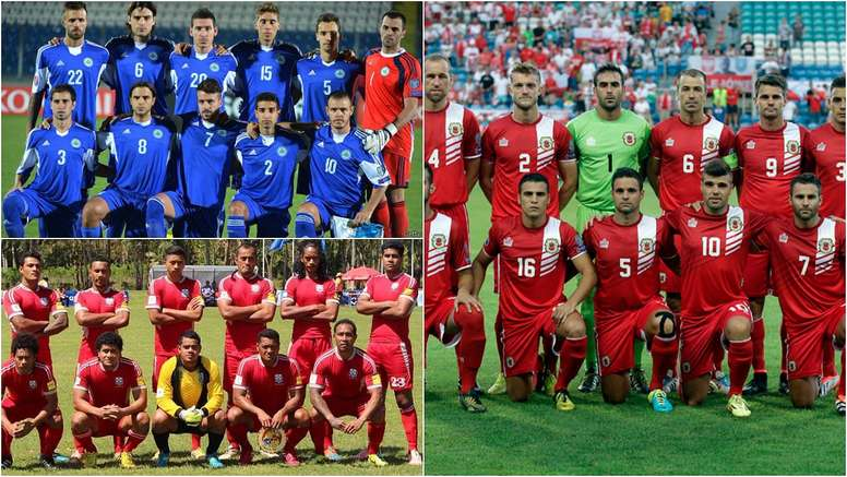 The 10 worst national teams in the world. BeSoccer