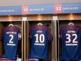 Neymar com nome em chinês. EFE