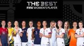 Estas son las candidatas al The Best. FIFA