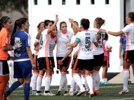 El Valencia Femenino ganó en la recta final su encuentro. VCFFemenino