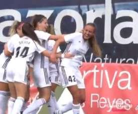 El Madrid CFF sudó para derrotar al Espanyol. Twitter/MadridCFF