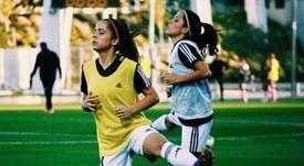 Las gemelas Ortiz han revolucionado el fútbol femenino. Twitter/samaraortiz14