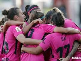 El Málaga tenía previsto enfrentarse al Femenino Cáceres. MálagaCF