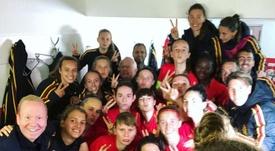 ¡Brutal! Bélgica goleó a Armenia... ¡17-0! Twitter/BelgianRedFlames