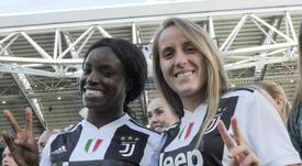 Día histórico para la Juve Femenina. Twitter/JuventusFCWomen