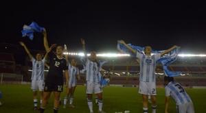 Argentina venció a Panamá en la repesca. Argentina