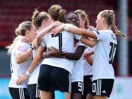 Alemania superó a Holanda en las semifinales. Twitter/UEFAWomensEURO
