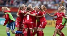 La UEFA ha castigado a la selección femenina de Dinamarca. UEFAWomensEURO