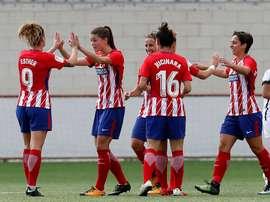 El Atlético jugará un amistoso con Independiente Santa Fe. AtletiFemenino