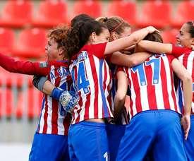 Laura afianza el liderato del Atlético en el minuto 93. AtletiFemenino