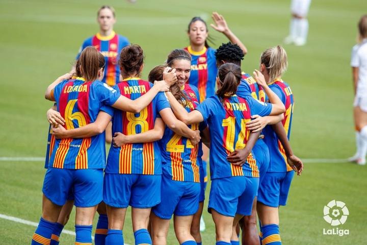 El Barcelona ganó el triplete el pasado curso. LaLiga