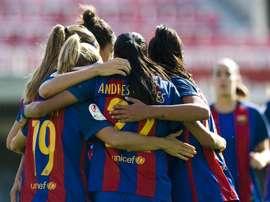 El Barcelona defiende su ventaja y el Rayo prosigue con su escalada. FCBFemení
