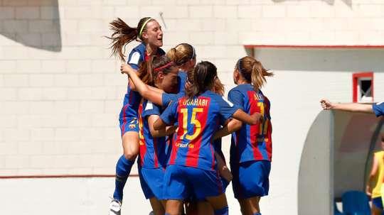 El fútbol femenino muestra su crecimiento. RCBFemení