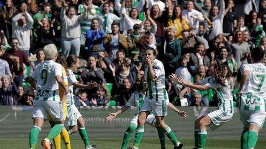 La Liga Iberdrola est de retour au Villamarín. RealBetisFem