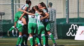 El Betis va quinto en la Liga Iberdrola. RealBetisFéminas